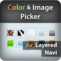Color and Image Picker for Layered Navigation