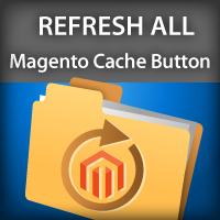 Refresh all Magento Cache Button
