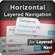 Horizontal Layered Navigation (positioning) icon