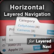 Horizontal Layered Navigation (positioning) icon