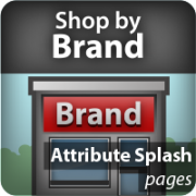 Shop By Brand Attribute Splash Pages