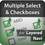 Multiple Select and Checkboxes for Magento Layered Navigation