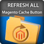 Refresh all Magento Cache Button