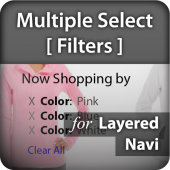 Layered Navigation (Filters) with Multiple Select for Magento 2