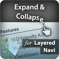 Expand - Collapse for Layered Navigation