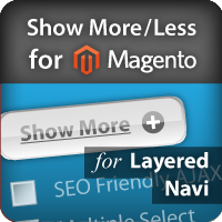 Show More / Show Less links and Scrollbar for Magento Layered Navigation