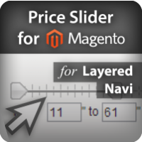 Price Slider for Layered Navigation