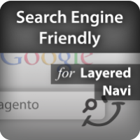 Search engine friendly links for Magento Layered Navigation