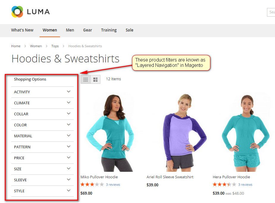 Layered Navigation in Magento 2