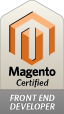 Certified Magento theme developer