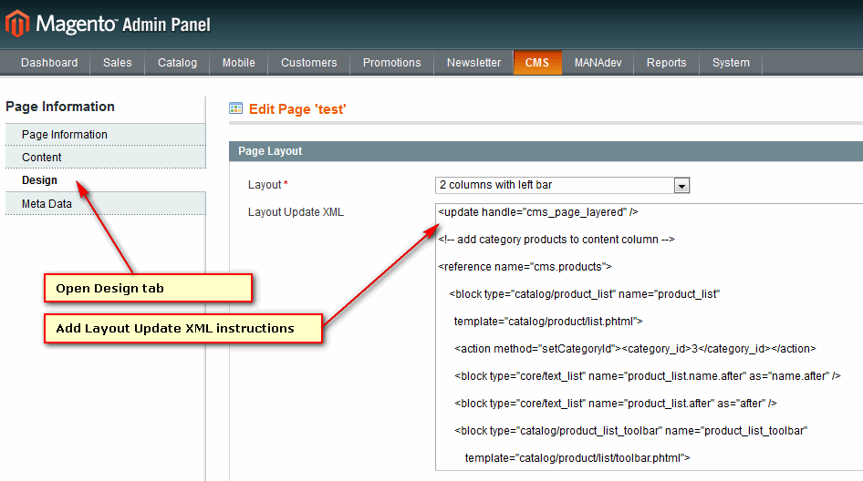 How To Put Layered Navigation On Home Page (or Any CMS Page)