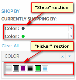 Colors Picker Sections)
