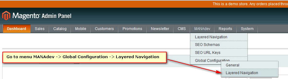 SEO Layered Navigation Global Configuration
