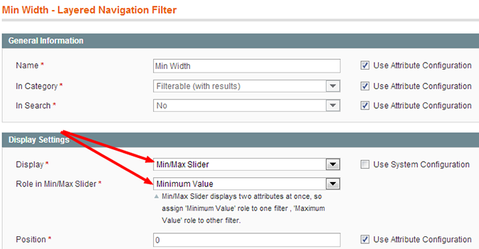 Setting Minimum Role Playing Attribute For Magento Layered Navigation 2 Attribute Slider