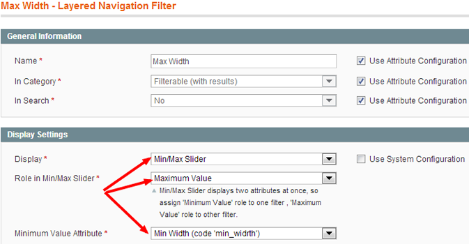 Setting Maximum Role Playing Attribute For Magento Layered Navigation 2 Attribute Slider